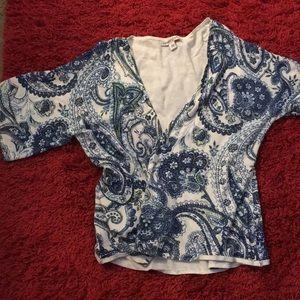 Beautiful paisley print sweater